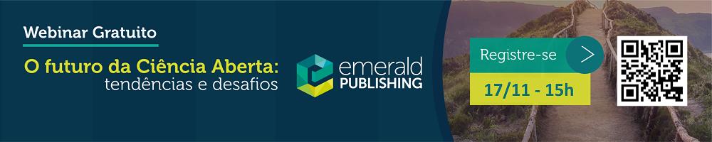Webinário Emerald - 17 de novembro 2020