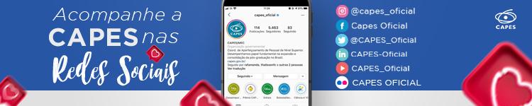 Redes sociais da Capes