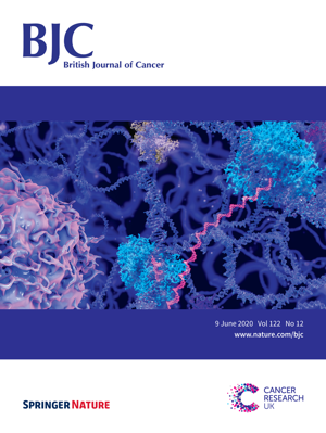 O artigo foi publicado pelo British Journal of Cancer (Imagem: BJC | Springer Nature)