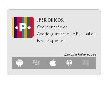 Aplicativo do Portal de Periódicos para dispositivos móveis