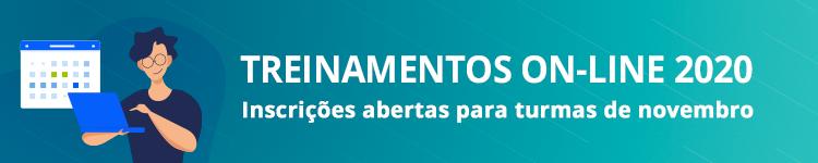 Treinamentos on-line 2020 - novembro